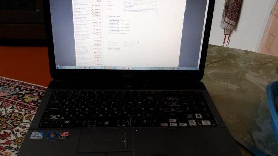 Запчасти на ноутбуки acer в искитиме